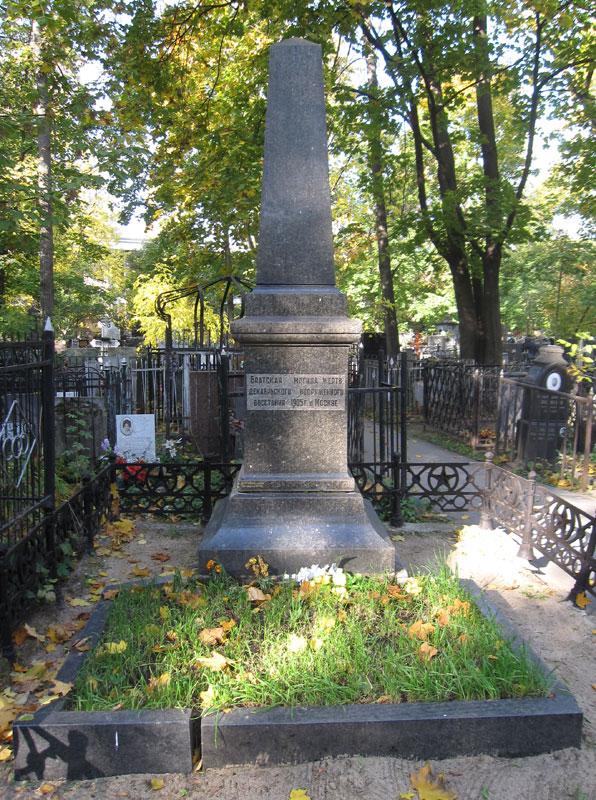 План Ваганьковское Кладбище