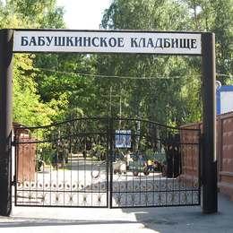 Вход на Бабушкинское кладбище