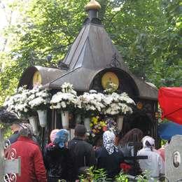 Могила Блаженной Матроны Московской, Даниловское кладбище