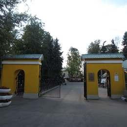 Вход на Даниловское кладбище
