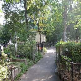 Вид на Даниловское кладбище