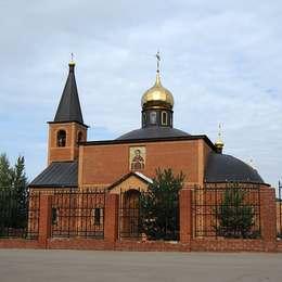 Храм всех Скорбящих Радости, Домодедовское кладбище