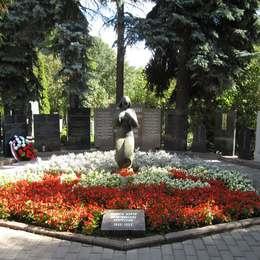 Памятник иностранным жертвам политических репрессий, Донское кладбище