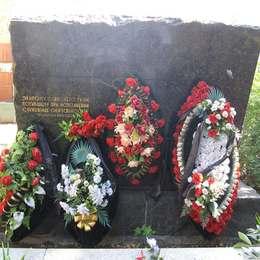 Донское кладбище, памятник экипажу ТУ-114, 17.02.1966