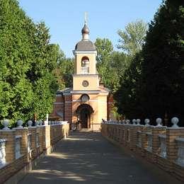 Храм на территории Головинского кладбища