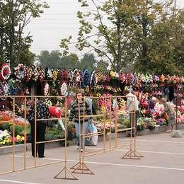 Продажа венков и букетов, Химкинское кладбище