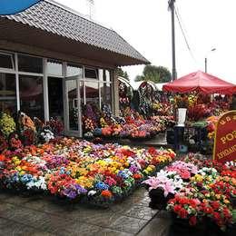 Продажа венков и букетов, Хованское кладбище