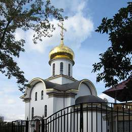 Храм, Кузьминское кладбище
