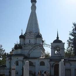 Храм, Медведковское кладбище