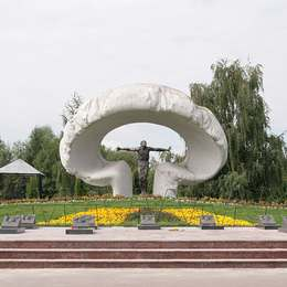 Памятник жертвам катастрофы ЧАЭС, Митинское кладбище