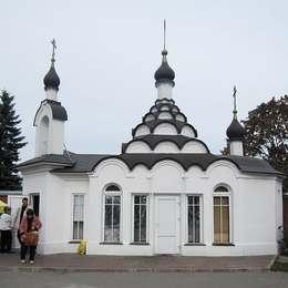 Храм, Николо-Архангельское кладбище