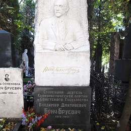 Могила Владимира Бонч-Бруевича