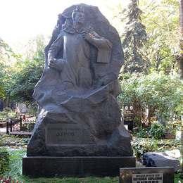Могила Владимира Дурова