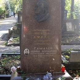 Могила Николая Гамалеи