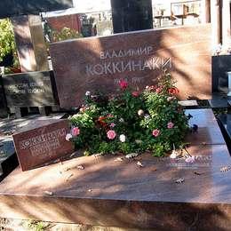 Могила Владимира Коккинаки