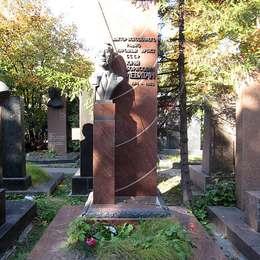 Могила Юрия Левитана