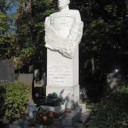 Могила Павла Рыбалко