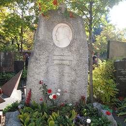 Могила Иннокентия Смоктуновского