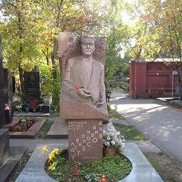 Могила Леонида Утесова