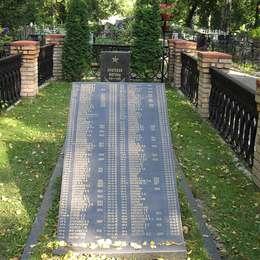 Братская могила, Раевское кладбище