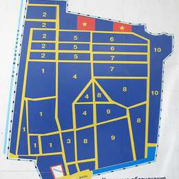 Схема Рогожского кладбища