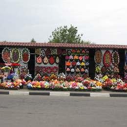 Продажа венков и букетов, Щербинское кладбище