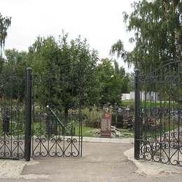 Вход на Старо-Покровское кладбище