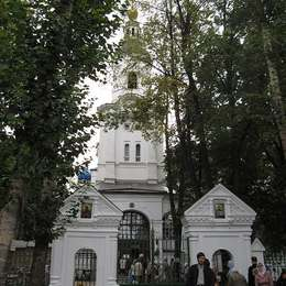 Храм на территории Вешняковского кладбища