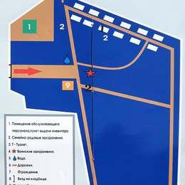 Схема Владыкинского кладбища